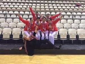 Dance team kampioen