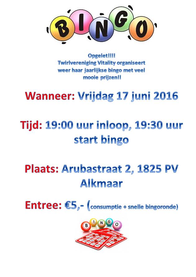 Flyer bingo 2016